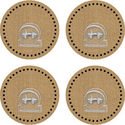 TEACHER CREATED RESOURCES CLINGY THINGIES CLIPS BURLAP