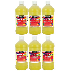 SARGENT ART (6 EA) YELLOW ART-TIME WASHABLE 173502BN