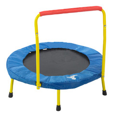 THE ORIGINAL TOY COMPANY FOLD AND GO TRAMPOLINE