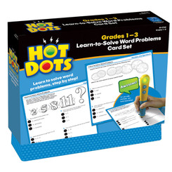 EDUCATIONAL INSIGHTS HOT DOTS LEARN TO SOLVE WORD 2765