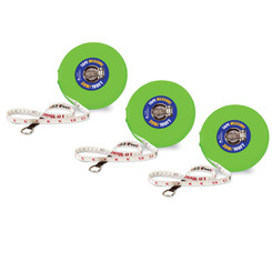 LEARNING RESOURCES (3 EA) TAPE MEASURE 30M/100FT 0369BN