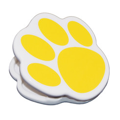 ASHLEY PRODUCTIONS MAGNET CLIPS GOLD PAW 10225