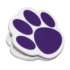 ASHLEY PRODUCTIONS MAGNET CLIPS PURPLE PAW 10226