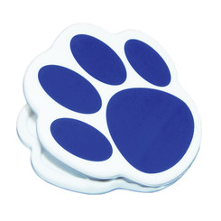 ASHLEY PRODUCTIONS MAGNET CLIPS BLUE PAW 10223