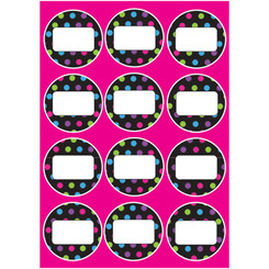 ASHLEY PRODUCTIONS DIE CUT MAGNETS COLOR DOTS 10113