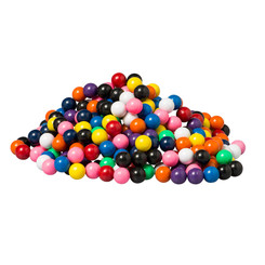 DOWLING MAGNETS 400 SOLID MARBLES IN DISPLAY BOX