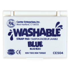 READY 2 LEARN STAMP PAD WASHABLE BLUE