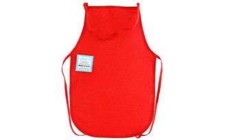 406E MARK RICHARDS WEAR M CANVAS APRON CHILD 12X19 RED