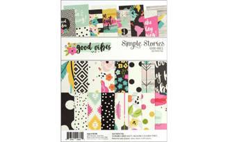 10196 SIMPLE STORIES GOOD VIBES PAPER PAD 6X8