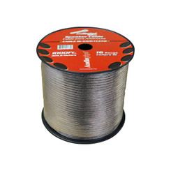 NIPPON CABLE161000 SPEAKER WIRE AUDIOPIPE 16 GA 1000' CLEAR