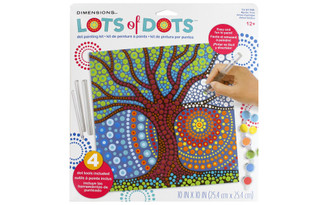 73-91780 DIMENSIONS LOTS OF DOTS DOT PAINTING 10X10 MSTCTRE
