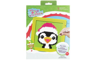 71931 COLORBOK SEW CUTE KIT NEEDLEPOINT PEPERMINT