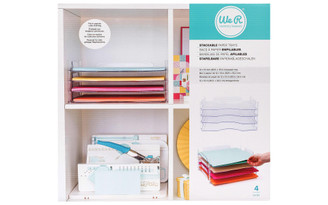 660476 WE R MEMORY PAPER TRAYS 12X13 STACK NEST