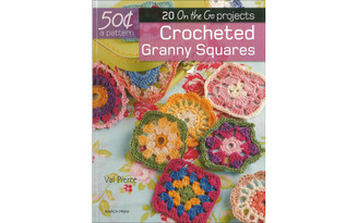 9781782215004 SEARCH PRESS 20 ON GO CROCHETED GRANNY SQUARES BK