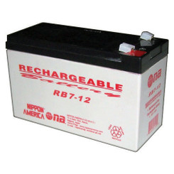 NIPPON RB712 12V RECHARGEABLE BATTERY 7AH NIPPON AMERICA