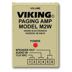 VIKING M2W PAGING POWER AMP W/25AE PAGING HORN INC.