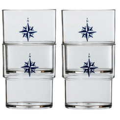 MARINE BUSINESS NORTHWIND STACKABLE GLASS SET OF 12