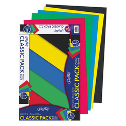 UCREATE PRIMARY POSTER BOARD 5 COLORS 5