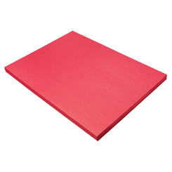 SUNWORKS CONSTRUCTION PAPER HOLIDY RED 18X24