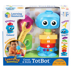 LEARNING RESOURCES COUNT & BUILD TOTBOT 7734