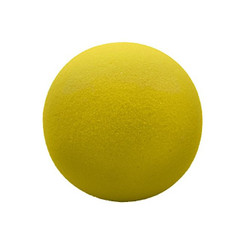 MARTIN SPORTS (3 EA) FOAM BALL 7 UNCOATED YELLOW FBY7BN