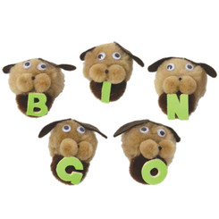 MELODY HOUSE BINGO DOGS WITH LETTERS 104