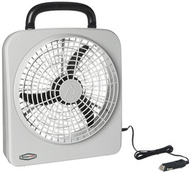 """ROADPRO RP8000 12-VOLT / BATTERY OPERATED 10 PORTABLE FAN"""""""