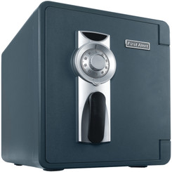 First Alert 2087F-BD Waterproof and Fire-Resistant Bolt-Down Combination Safe (.94 Cubic Feet)