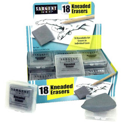SARGENT ART KNEADED ERASERS CLASS PACK OF 18