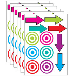 ASHLEY PRODUCTIONS (6 PK) DIE CUT MAGNETS TARGETS &