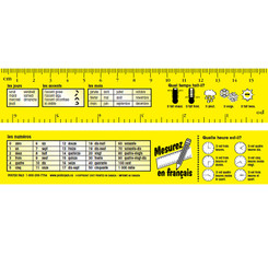 POSTER PALS (3 PK) RULERS FRENCH