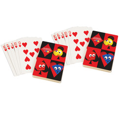 LEARNING ADVANTAGE (2 EA) GIANT PLAYING CARDS