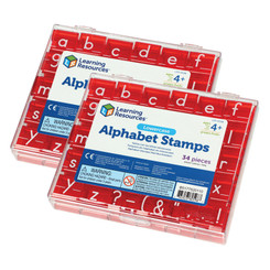 LEARNING RESOURCES (2 ST) LOWERCASE ALPHABET &