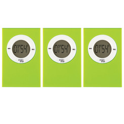 TEACHER CREATED RESOURCES (3 EA) MAGNETIC DIGITAL TIMER LIME