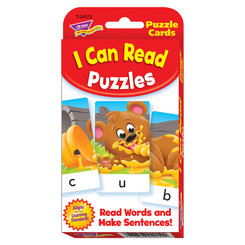 TREND CHALLENGE CARDS I CAN READ PUZZLES