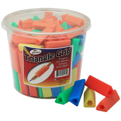 THE PENCIL GRIP TRIANGLE PENCIL GRIPS 200CT BUCKET