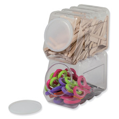 PACON (4 EA) STORAGE CONTAINER W/LID 27660BN