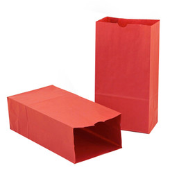 HYGLOSS COLORED CRAFT BAGS RED