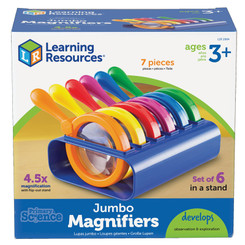 LEARNING RESOURCES PRIMARY SCIENCE JUMBO MAGNIFIERS