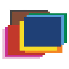PACON POSTER BOARD 6PLY 100 SHEETS ASST
