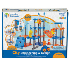 LEARNING RESOURCES CITY BUILDER ENGINEERING SET