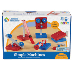 LEARNING RESOURCES SIMPLE MACHINES SET OF 5