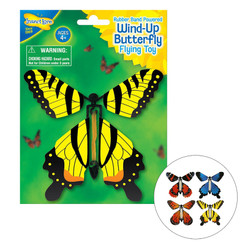 INSECT LORE WIND UP BUTTERFLY