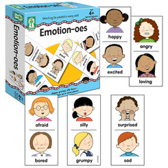 CARSON DELLOSA EDUCATION EMOTION-OES GAMES AGES 4 & UP