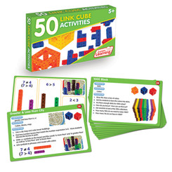 JUNIOR LEARNING 50 LINK CUBE ACTIVITIES