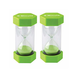 TEACHER CREATED RESOURCES (2 EA) LARGE SAND TIMER 5 MINUTE 20660BN