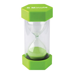 TEACHER CREATED RESOURCES LARGE SAND TIMER 5 MINUTE