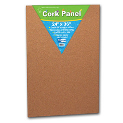 FLIPSIDE PRODUCTS CORK PANEL 24IN X 36IN