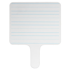 FLIPSIDE PRODUCTS RECTANGLE LINED ANSWER PADDLE