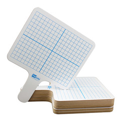FLIPSIDE PRODUCTS RECTANGLE GRAPH ANSWER PADDLE 12/PK